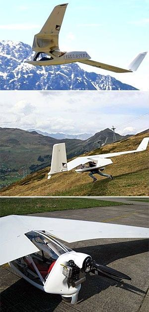 Drone Homemade : The Swift Light.. Not only can you run off a mountain with this...