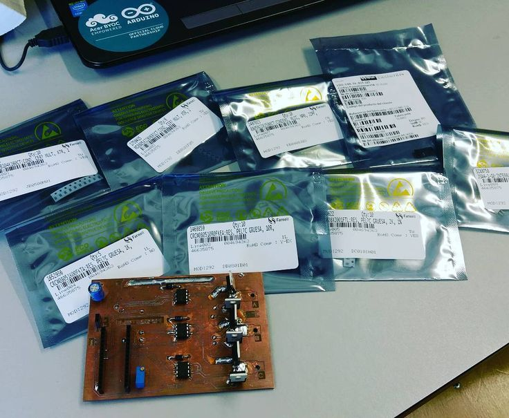 More smd components arrived.  let's solder and finish this board. ESC electronic...