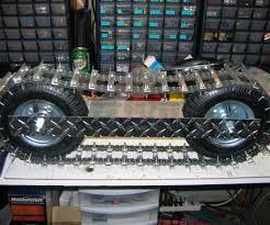 Resultado de imagem para homemade track vehicles