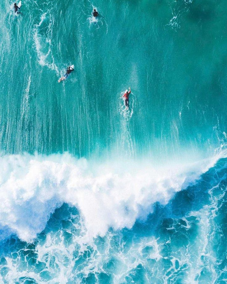 Bondi Beach From Above: Fascinating Drone Photography by Arnold Longequeue #insp...