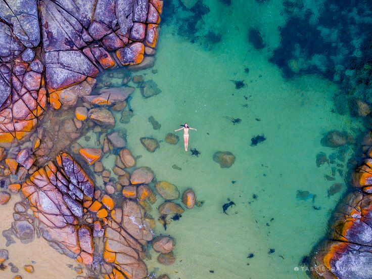 Here are 12 Aerial Drone Photographs of Tasmania's East Coast taken with a D...