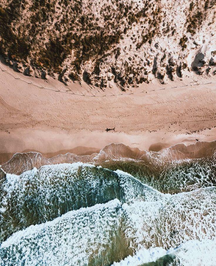 Landscape Drone Photography : La playa para mí solo. Ésto en pleno julio en Ib...