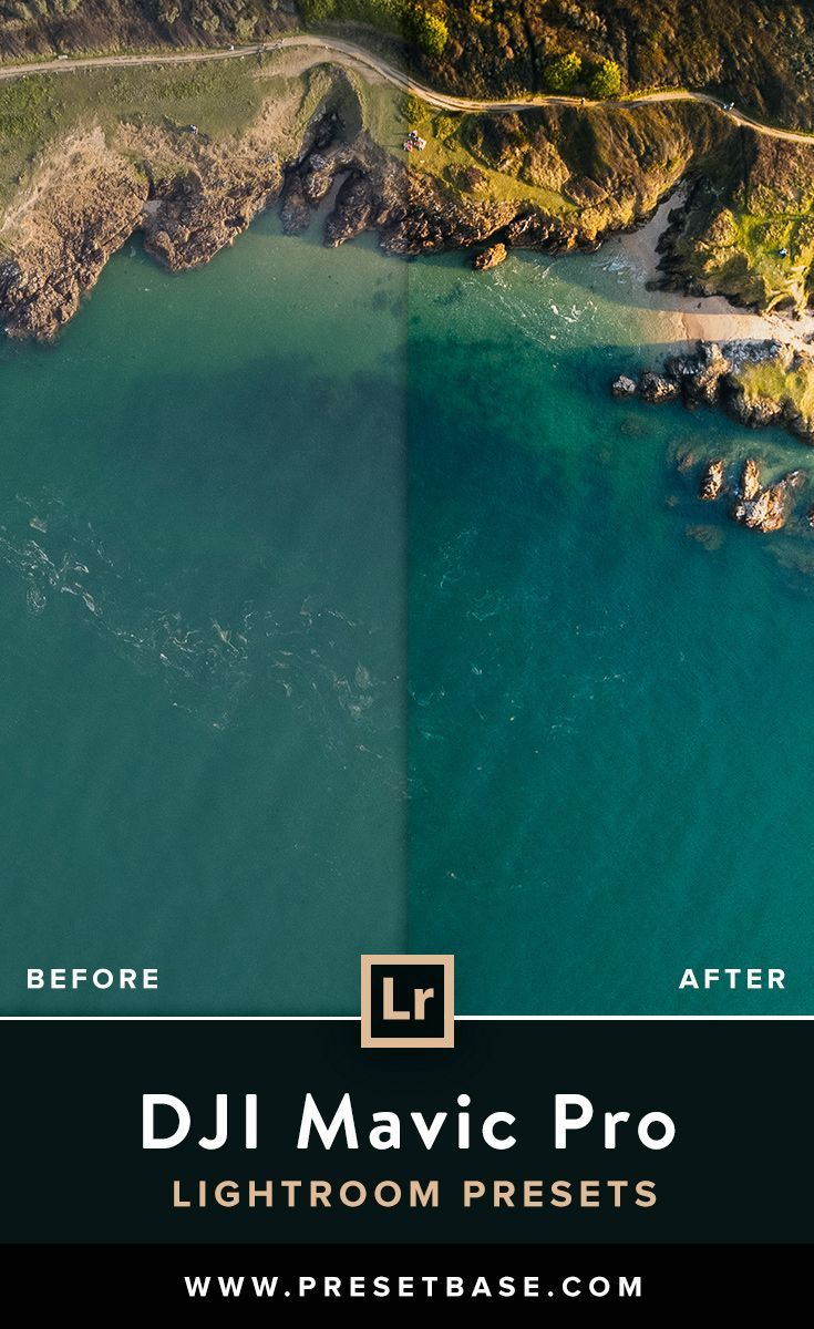 Premium Lightroom Presets for Aerial Landscape Photography with the DJI Mavic Pr...