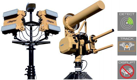Blighter AUDS Anti UAV Defence System