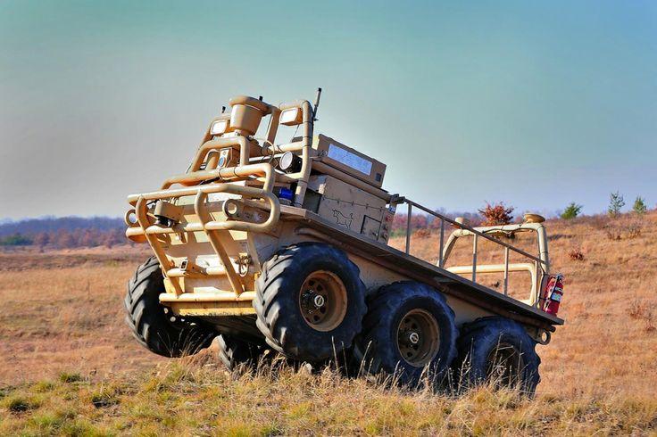 Military Autonomous Trucks