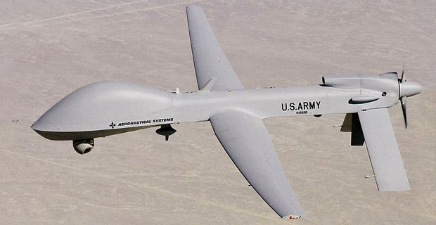 Military Drone: 2010 Pentagon directive authorizes use of military drones agains...