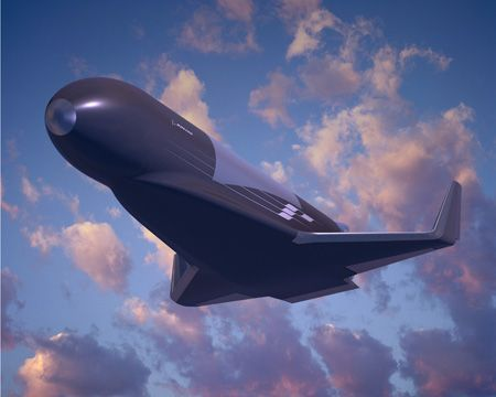 Military Drone: Boeing Reusable Booster System