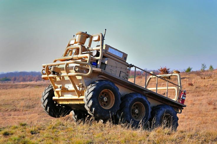 Military Drone: Military Autonomous Trucks