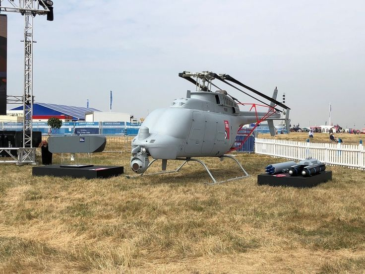 Military Drone: Northrops Fire Scout drone gets a new look for its European debu...