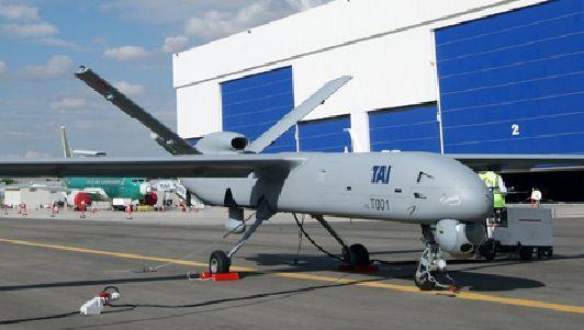 Military Drone: Tai Anka  İlk Türk yapımı İnsansız hava aracı