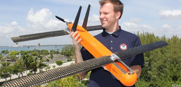 NOAA drones drop in on hurricanes | Just in time for this year's hurricane sea...