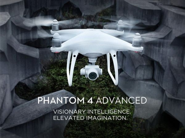 2017 New product DJI Phantom 4 Advanced Drone FPV 4K Camera GPS Drone DJI origin...