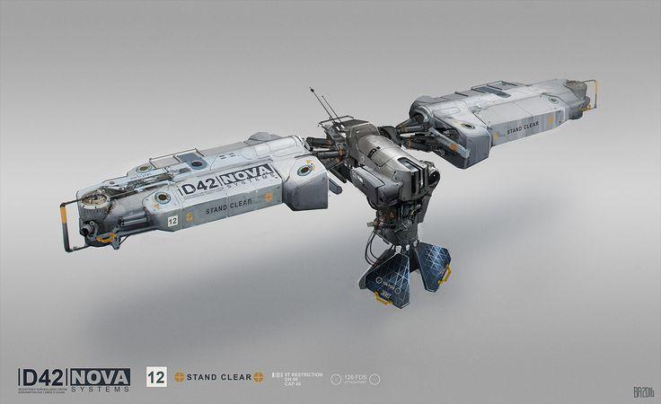 ArtStation - Nova drone, Ben Andrews