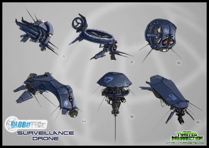 Concept: GloboTech Surveillance Drone image - Twisted Insurrection Mod for C: Ti...