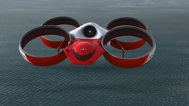 Drone Design : Bladeless Drone Concept on Behance