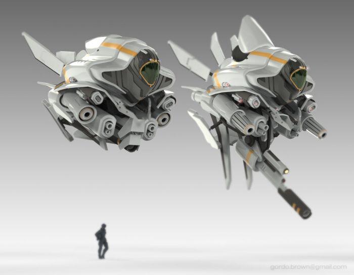 Drone Ship by Gordon Brown at Coroflot.com