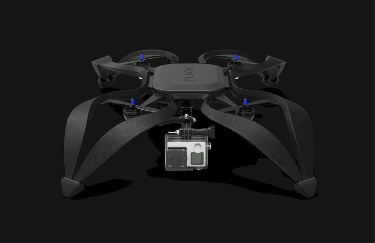 PLAGA Drone: A Modern Drone Design with Propeller Engines #productdesign