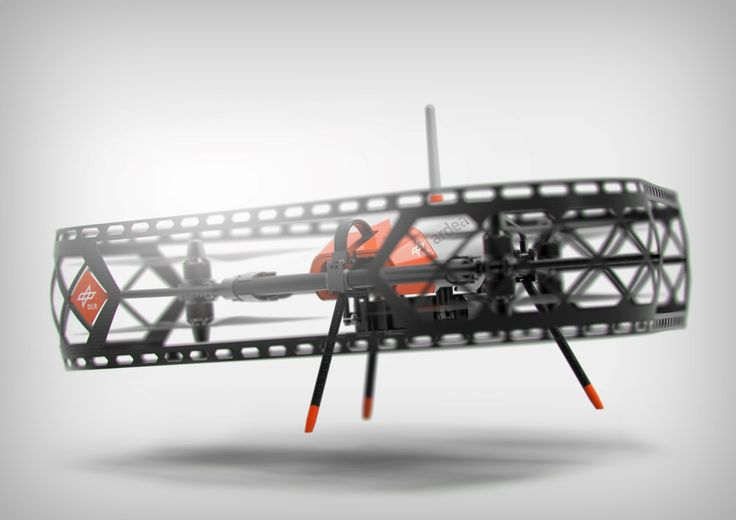The drone does delta! | Yanko Design