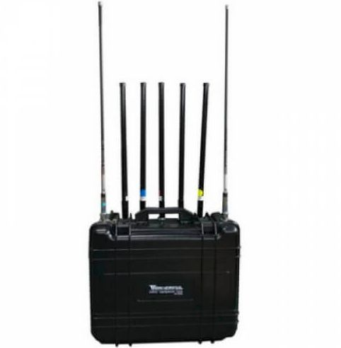 AntiDrone/Quadcopter jammer 7 Band 142W up to 600m (High Power)