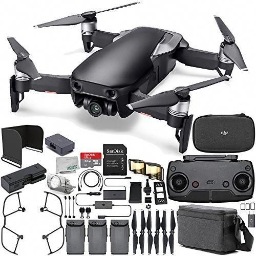 DJI Mavic Air Drone Quadcopter FLY More Combo (Onyx Black) Everything YOU Need Starters Bundle #QuadcopterDrones