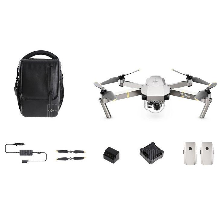 DJI Mavic Pro Platinum Foldable RC Quadcopter - RTF- FLY MORE COMBOPLATINUM - 993.97