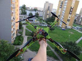 Picture of Arduino Drone | Quadcopter (3D Printed) #3dprinting