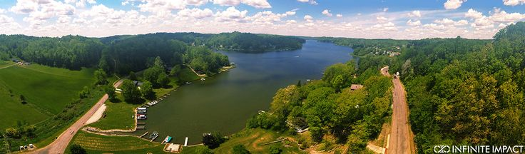Beautiful Lake Mohawk. This hidden gem is nestled in the hills of Malvern, Ohio. Home to great people, beaches, boating, and one heck of a 4th of July Party.  Photo by Tyler Cairns.  More Ohio Drone Photography at 8impact.com