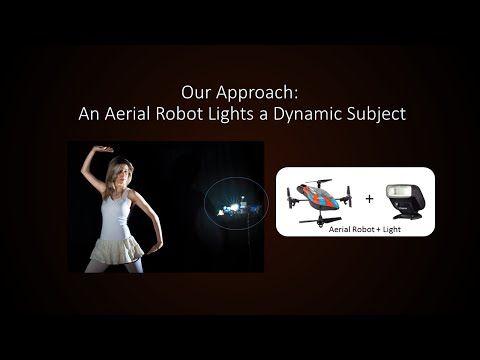 Computational Rim Illumination with Aerial Robots - YouTube