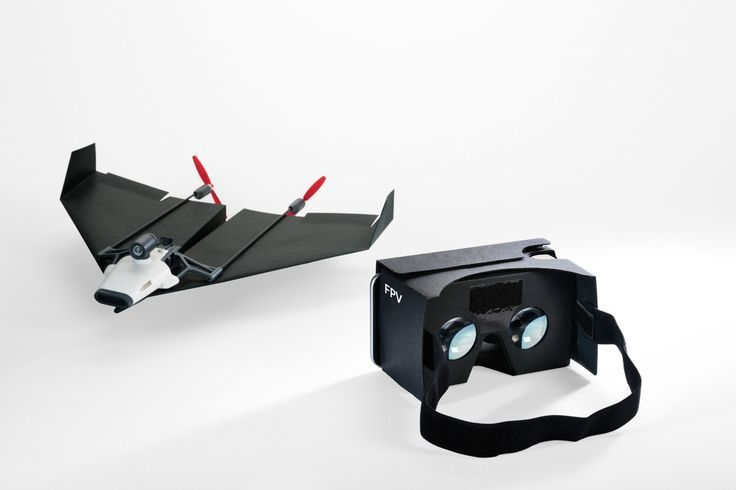 People Drone Photography : People Drone Photography : The PowerUp FPV is a paper airplane drone you control with your head
