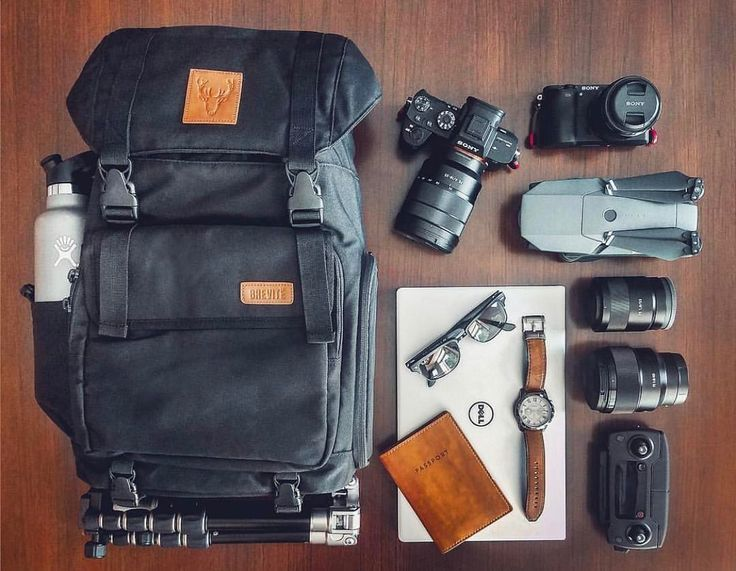 People Drone Photography : People Drone Photography : The rucksack