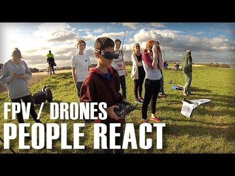 People React to FPV / Drones