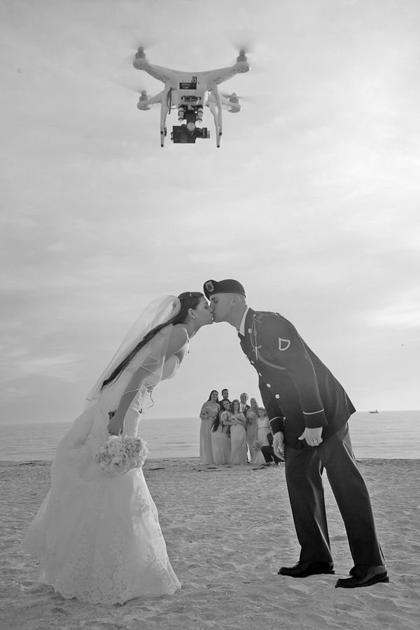 6 Standout Wedding Trends of 2015 We Want to See Again - drone photography