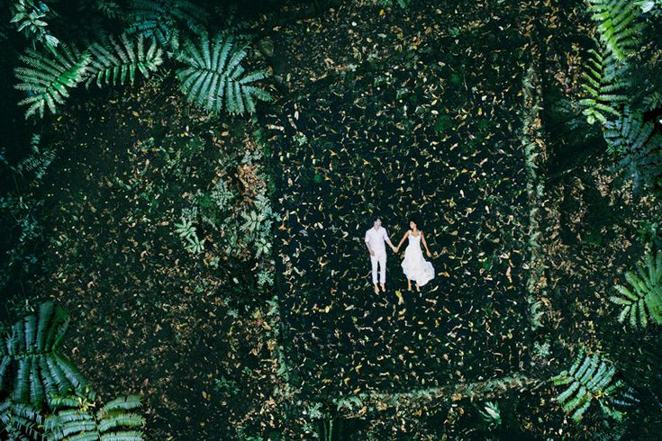 Search drones + weddings on YouTube and you'll find thousands of wedding videos shot using a drone, including this one that went viral. However, Tahiti-based photographer Helene Harvard is using a ...