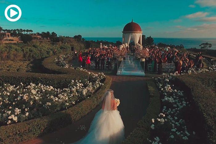 Wedding Photographer Takes Gorgeous Video Using Drone