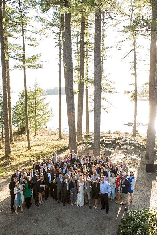 Maine Summer Camp Wedding at Migis Lodge