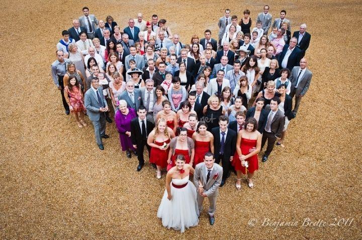 Wedding drone photography : 10 idées de photos de groupe amusantes pour le jour J