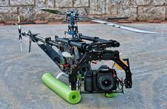 Aerial Photography with a Trex 700e - DIY Drones ML: Use something smaller and lighter, like