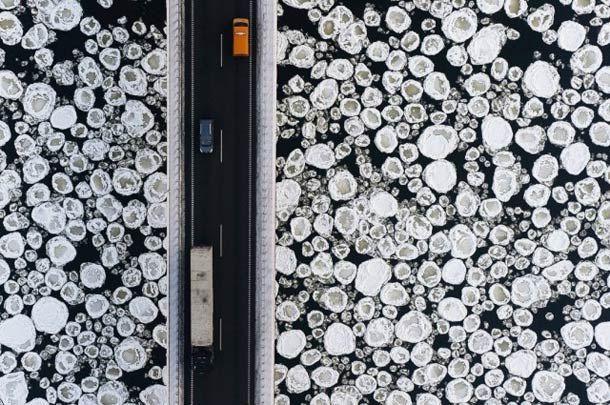 Les photographies aériennes de Kacper Kowalski