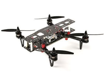 Details about DYS 250 FULL CARBON FIBER RACE DRONE QUADCOPTER FOLDING ARMS CASE PNF ASSEMBLED