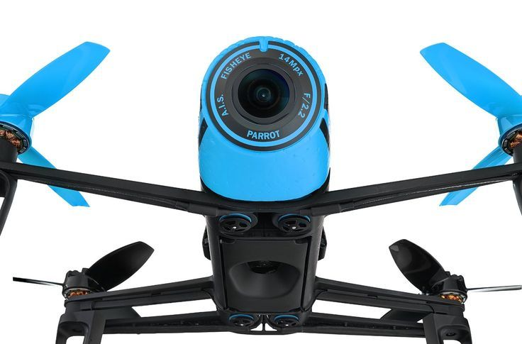 Drone Quadcopter : Parrot Bebop Drone Quadcopter w/ Camera Records in HD and Tracks With GPS