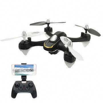 Eachine E33W WiFi FPV With Camera Headless Mode LED Light RC Drone Quadcopter RTF #rchelicopter