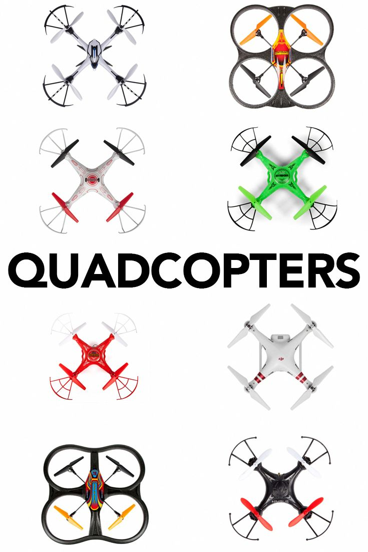 Experience endless fun with a brand new Quadcopter! #QuadcopterDrones