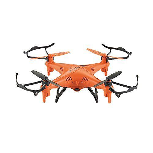 GPTOYS F51 - Mini Drone Quadcopter RC Impermeable (2.0MP Cámara, LED Brillante,...