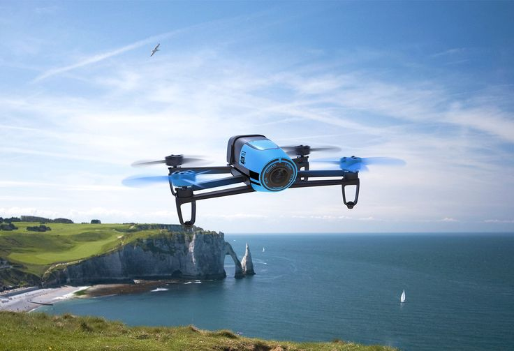 Parrot Bebop Drone Quadcopter w/ Camera Records in HD and Tracks With GPS