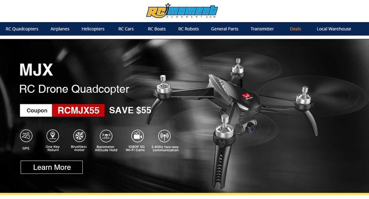 RCMoment Get MJX RC Drone Quadcopter and Save $55