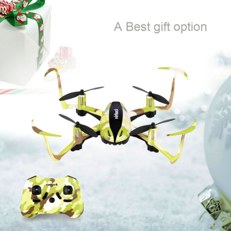 Virhuck T915 RC Drone Quadcopter 2.4GHz 4CH 6 Eje GYRO Helicóptero LED Headless...