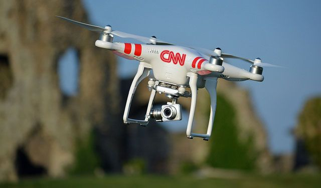 CNN Gets Permission from FAA to Experiment with Camera Drones in News Gathering