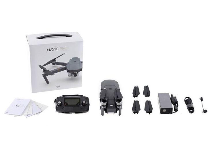 DJI Mavic Pro Drone with 4K HD Camera (DJI Refurbished)