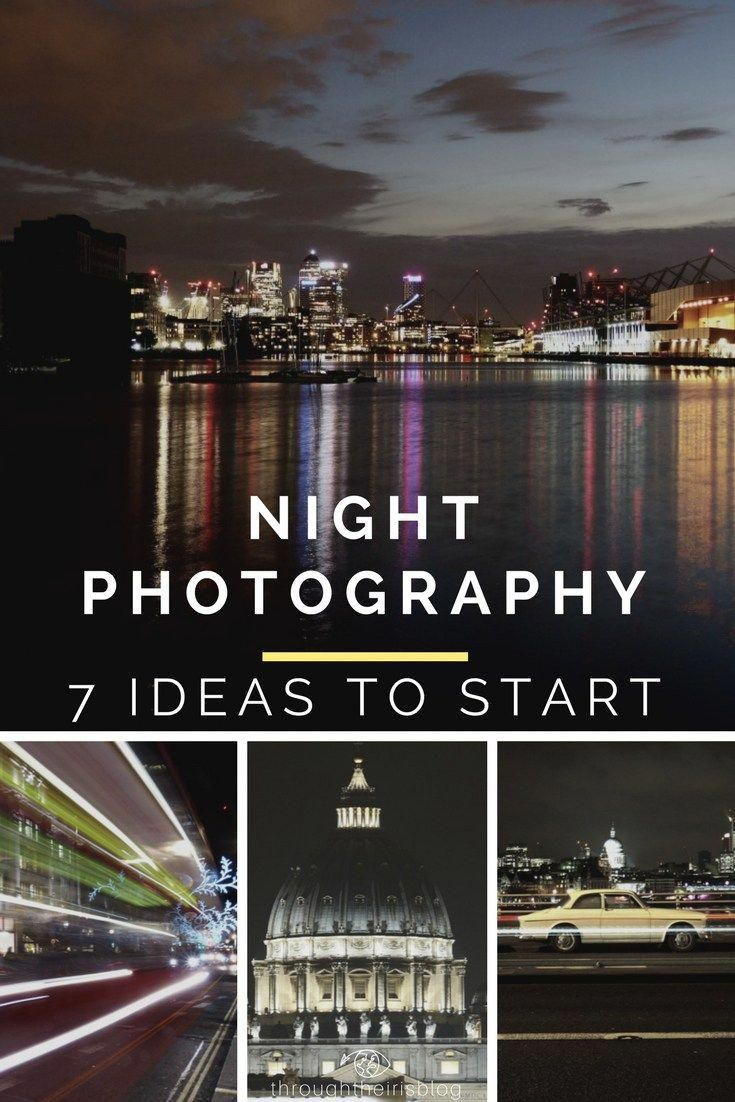 Night photography Step by Step Guide - Learn how to take great pictures at night #dronephotographyideaspeople