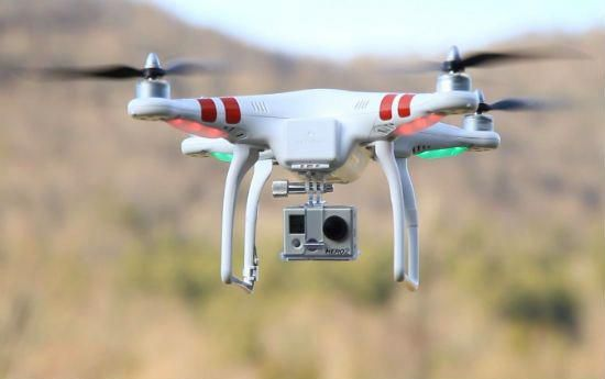 The DJI Phantom is a great quadcopter for GoPro cameras. They are ready to go, out of the box. #dronephotographypeople